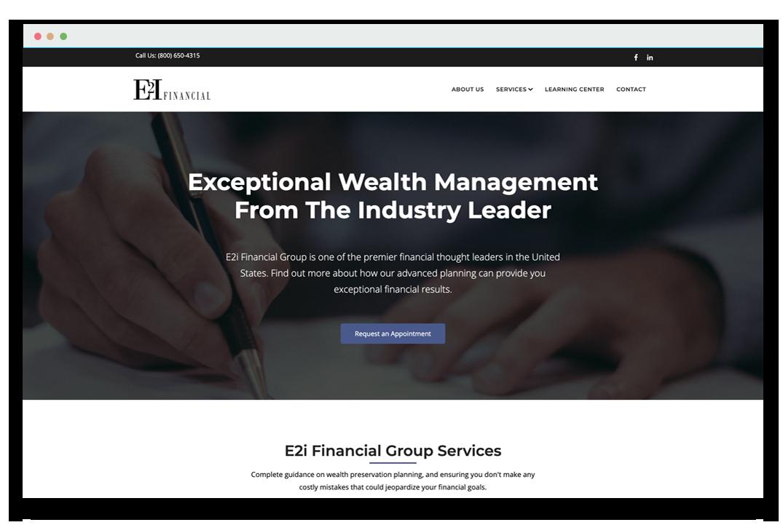 e2i-website-screenshot