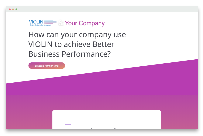 violin-website-screenshot